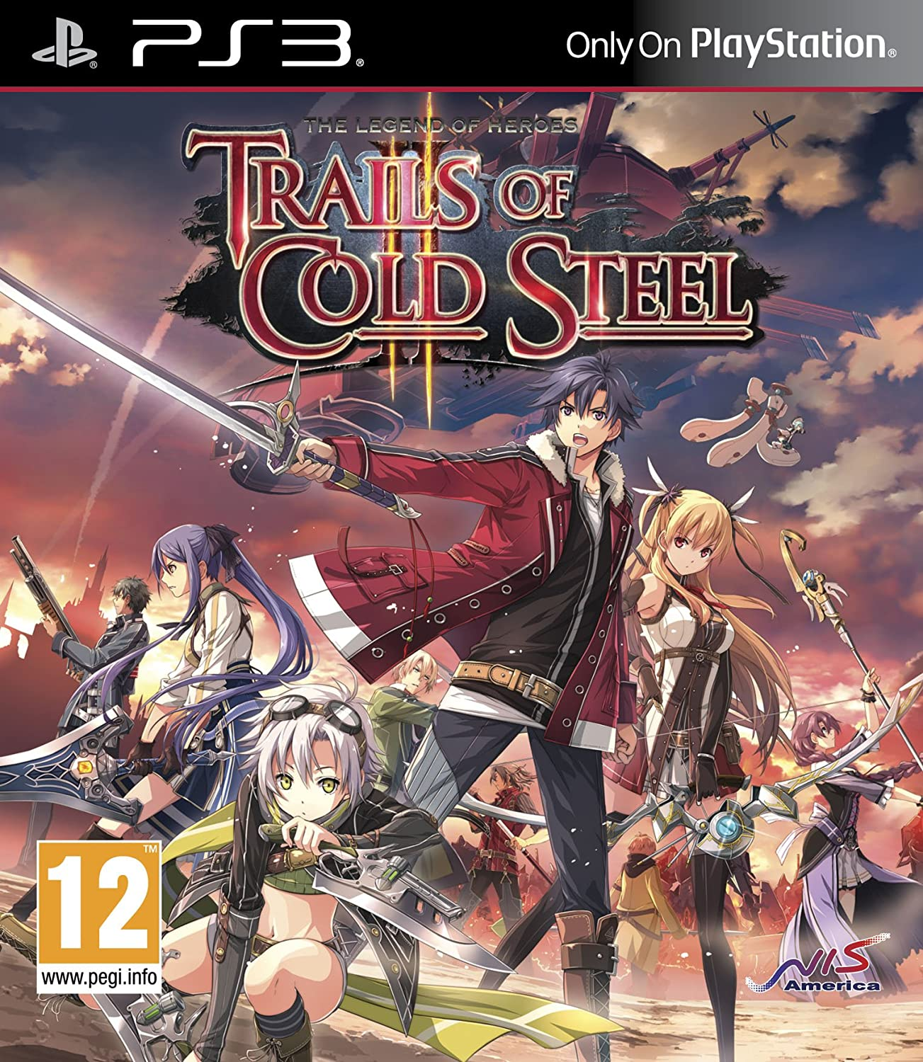 The Legend of Heroes: Trails of Cold Steel II (PS3)