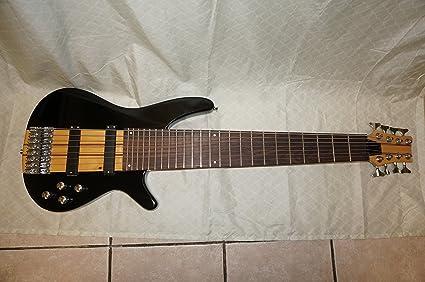 Bajo eléctrico guitarra, 8 cuerdas