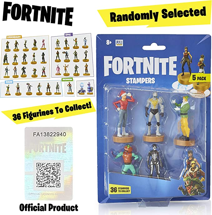 Fortnite figuras de acción   Juego de 5 figuras de Fortnite juguete coleccionables   Juguetes para adultos y niños   Accesorios Fortnite y regalos para jugadores, paquete de 5 (selección aleatoria): Amazon.es: Juguetes y juegos