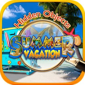 Amazon Com Hidden Object Summer Beach Vacation Hawaii Florida