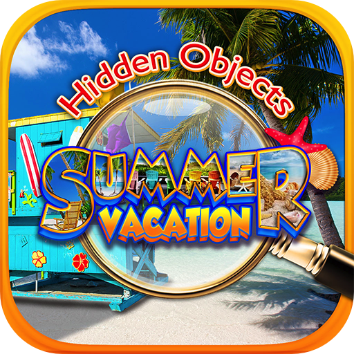 Kids Mansion Bed - Hidden Object Summer Beach Vacation - Hawaii, Florida, California, Italy, Mexico, Bahamas & Travel Puzzle Pic Find Photo Spot the Difference Searching for Missing Objects