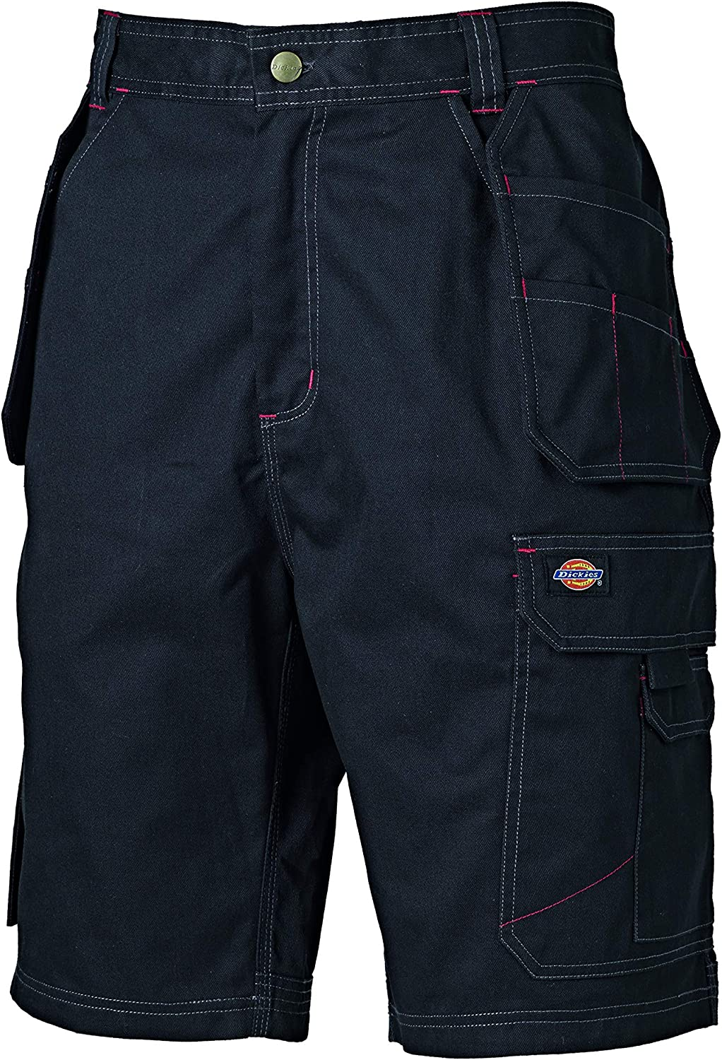 65/% Polyester//35/% Cotton 30 Size Grey Dickies WD802 GY 30 Redhawk Pro Short