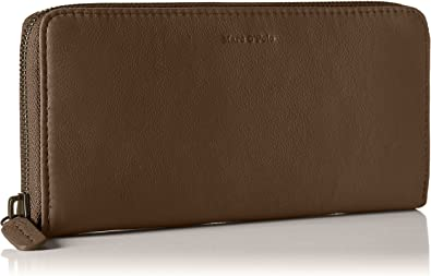 Marc OPolo - Zip Wallet M, Carteras Mujer, Braun (Café), 10x2 ...