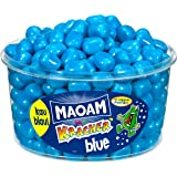 Haribo Maoam, Kracher Blue / Blau, Dragees, Kaubonbon, 265 Stück, 1200g Dose