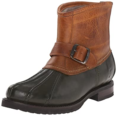 FRYE Womens Veronica Duck Engineer Winter Boot       Forest Multi
