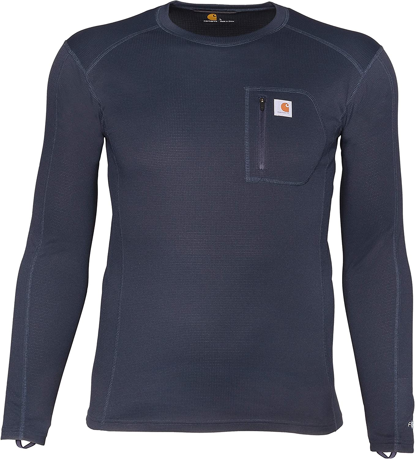 Carhartt Base Layer Men's Tall Size Force Midweight Tech Thermal Base Layer Long Sleeve Shirt