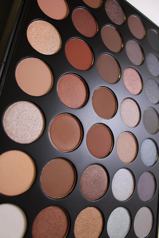Morphe 35k eyeshadow palette review beauty in bold - Amazon Com Morphe Pro 35 Color Eyeshadow Makeup Palette Koffee Palette 35k Beauty