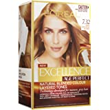 L'Oréal Paris Excellence Age Perfect Permanent Hair Colour - 7.32 Dark Gold Rose Blonde (Natural Blended Colour)