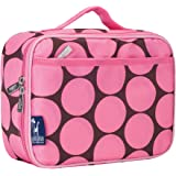 Lunch Box, Wildkin Lunch Box, Insulated, Moisture Resistant, and Easy to Clean with Helpful Extras for Quick and Simple Organization, Ages 3+, Perfect for Kids or On-The-Go Parents – Big Dot Pink