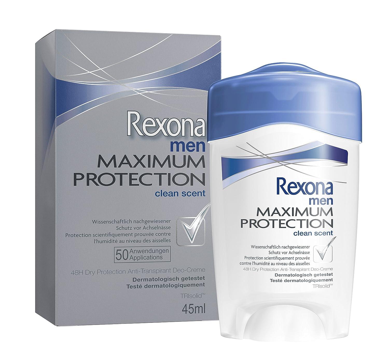 Préférence Rexona Maximum Protection Anti-Transpirant Deo-Creme 45 ml: Amazon  RI25