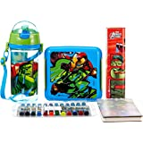 Marvel Spider Man back to School stationery combo set, 999, Multicolor