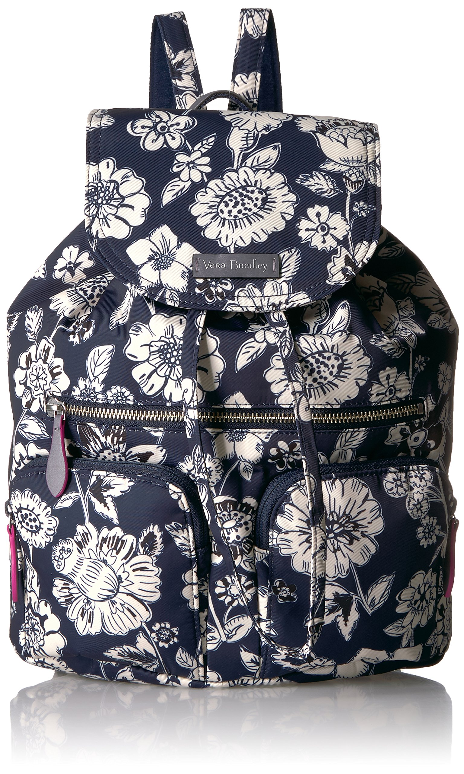 Vera Bradley Women's Midtown Cargo Backpack, midnight floral by Vera Bradley