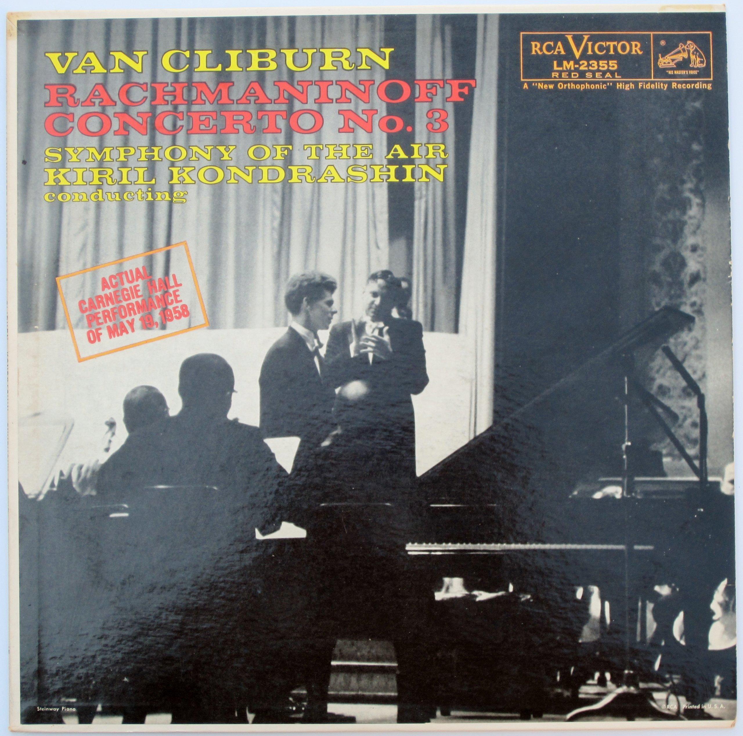 Rachmaninoff: Concerto No. 3 ''Symphony of the Air'' / Van Cliburn, Kiril Kondrashin, Conducting by RCA Victor Red Seal