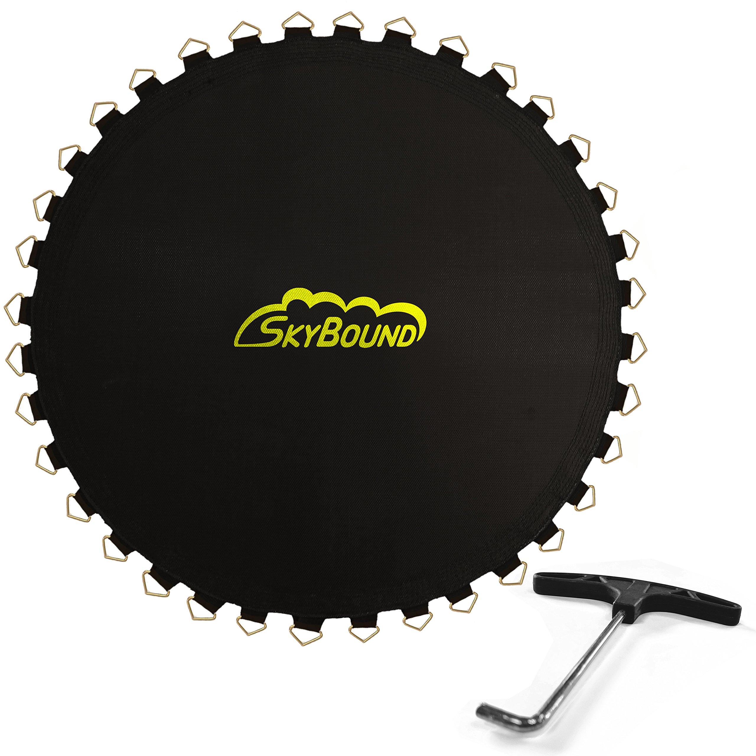 SkyBound 151.5'' Trampoline Mat with 72 V-Rings (Fits 2018+ Sports Power, Bounce Pro, JumpZone 14' Frames & 5.5'' Springs) by SkyBound USA