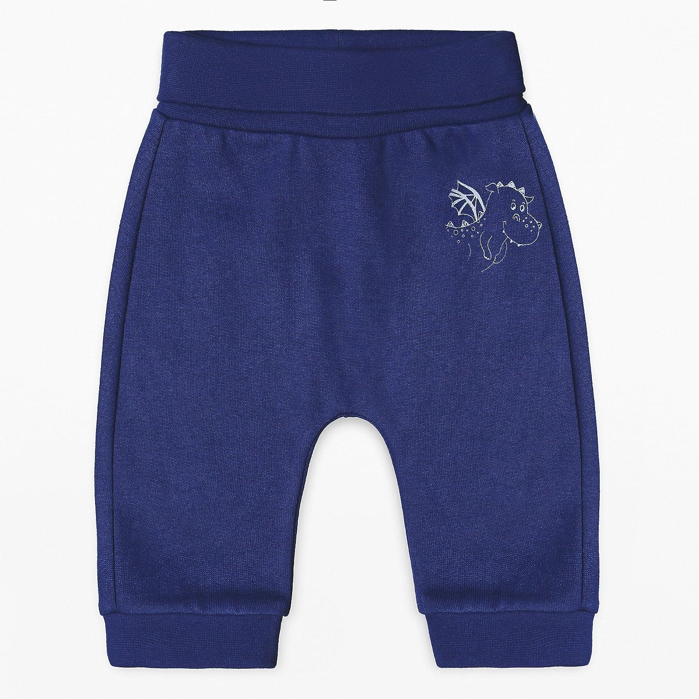 ESPRIT KIDS Baby - Jungen Jogginghose Blau (Deep Indigo 491) 74 RK23052