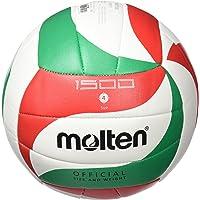 Molten VM1500 - Balón de Voleibol Intanfil, Blanco