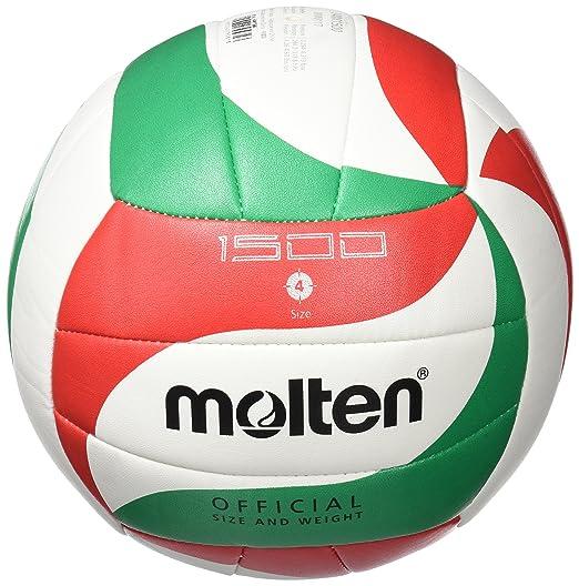 17 opinioni per Molten V5M1500- pallone da pallavolo, colore bianco/ verde / rosso, taglia 5