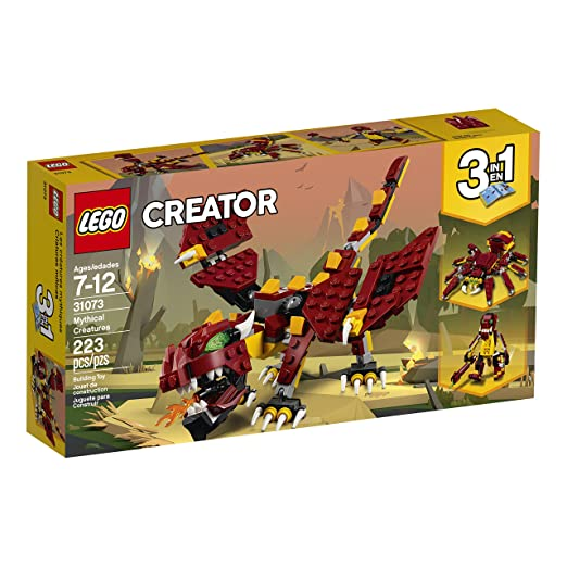 Amazoncom Lego Creator 3in1 Mythical Creatures 31073 Building Kit
