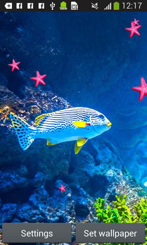 Fish live wallpapers appstore for android for Live fish games