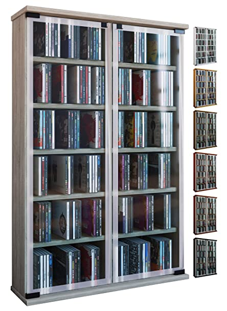 Kuechen Ideen Aufbewahrung Galerie | Vcm Regal Dvd Cd Rack Medienregal Medienschrank Aufbewahrung