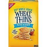 Wheat Thins Hint of Salt Whole Grain Low Sodium Crackers, 9.1 oz