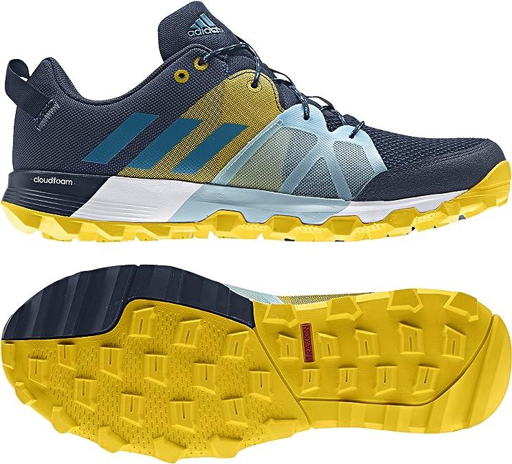 adidas Kanadia 8.1 TR M, Zapatillas de Running para Hombre, Azul (Azul-(Maruni/Petmis/EQTAMA), 50 2/3 EU: Amazon.es: Zapatos y complementos