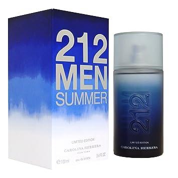 959ede8759 Carolina Herrer 212 Men Summer Eau de Toilette Spray 100 ml: Amazon.co.uk:  Beauty