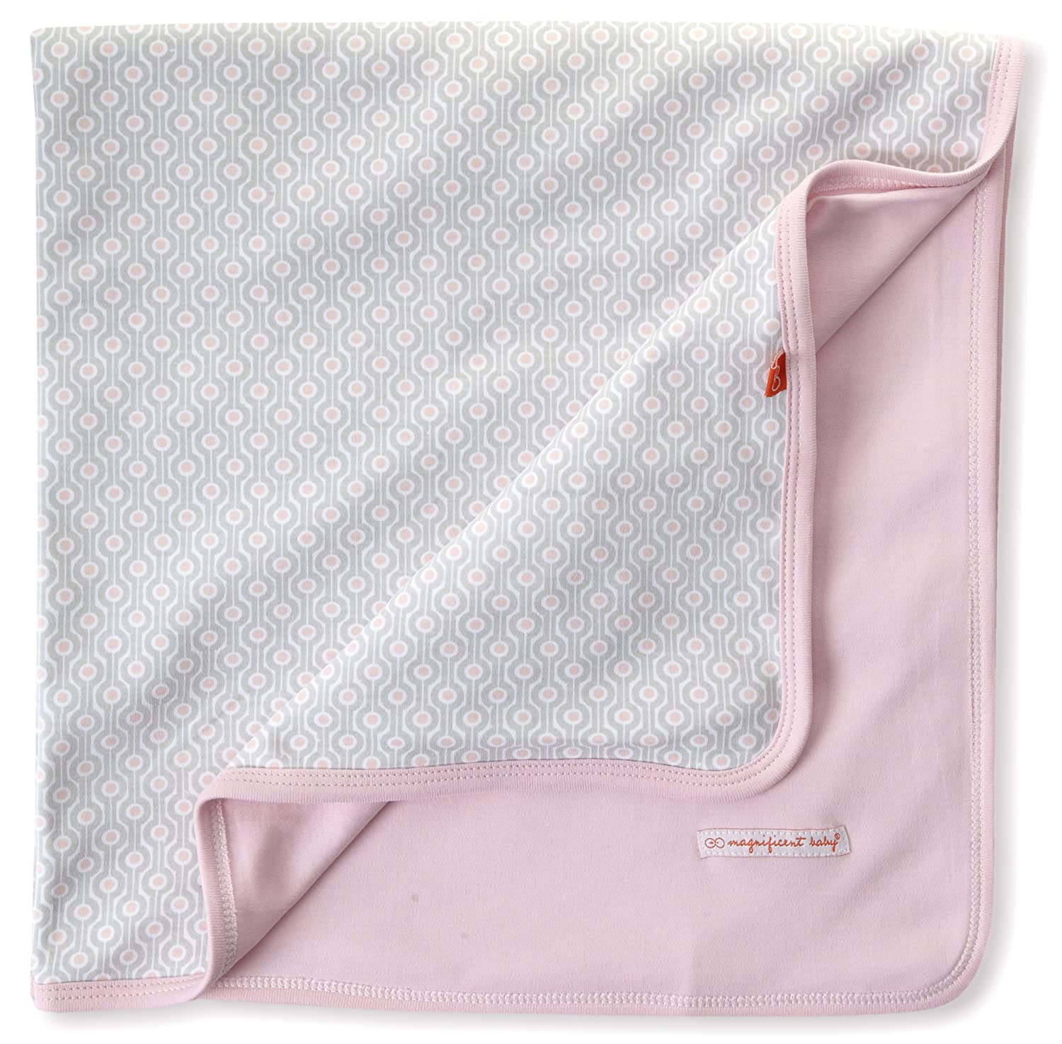 Magnificent Baby-Girls Newborn Reversible Blanket Mod Dots One-Size 2130G