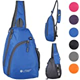 Sling Shoulder Backpack Travel Chest Bags Crossbody Hiking School Men Women Girl