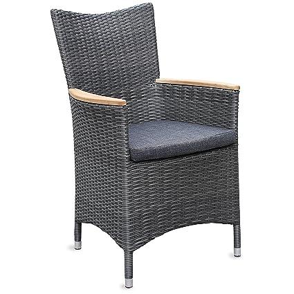 6 de las sillas de jardín de