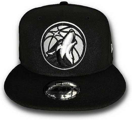 casual shoes top design utterly stylish New Era Minnesota Timberwolves NBA Basic Black & White 9FIFTY ...