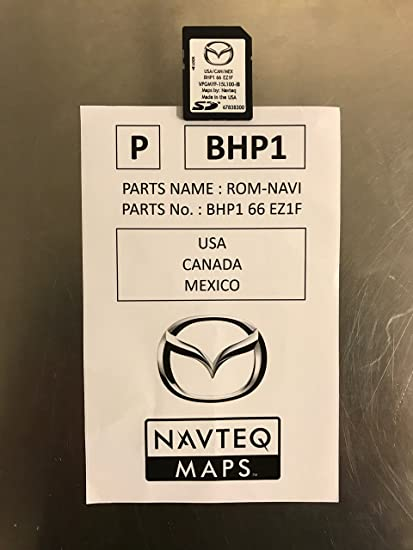 Amazon.com: LATEST 2017 Mazda Navigation SD Card Map Chip GPS ...