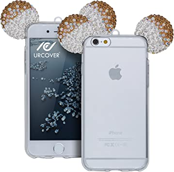 Urcover Apple iPhone 6/6s Funda Orejas de Ratón Brillante Silicona ...