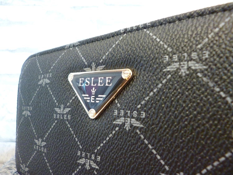 fbadd97b06 Eslee , Portafogli grigio Grau: Amazon.it: Valigeria