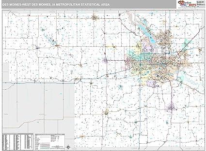 Amazon Com Marketmaps Des Moines West Des Moines Ia Metro Area