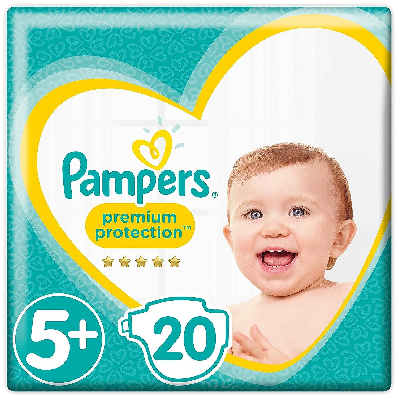 Pampers - Protección Premium - Pañales Tamaño 4 (9-14 / 8-16 kg) - Paquete de 1 mes (x168 pañales) Procter & Gamble 81561732