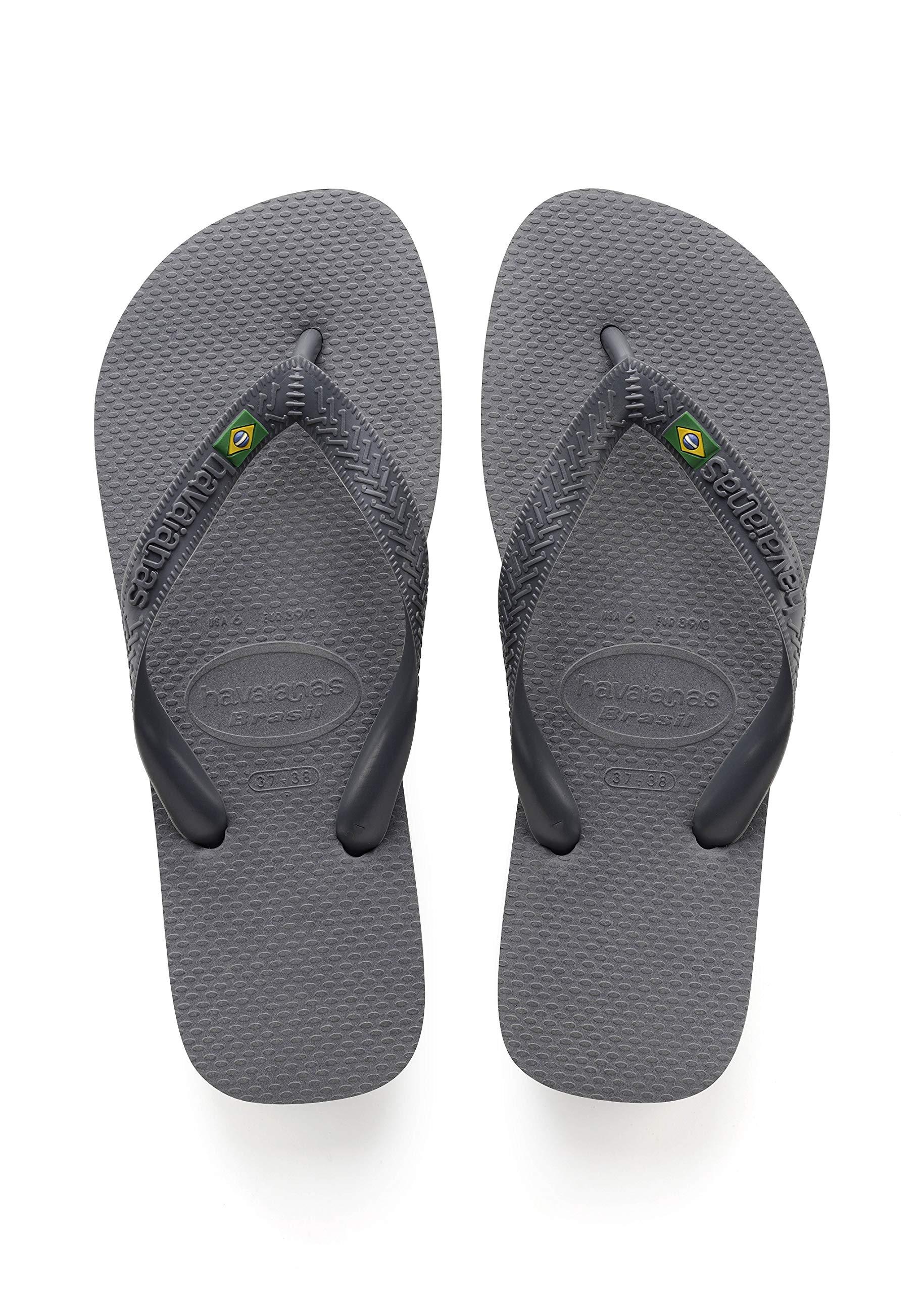 8e613b439c0bac Galleon - Havaianas Brasil Logo Unisex Adult s Flip Flops