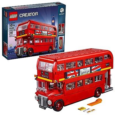 LEGO Creator Expert London Bus 10258 Building Kit (1686 Pieces): Toys & Games