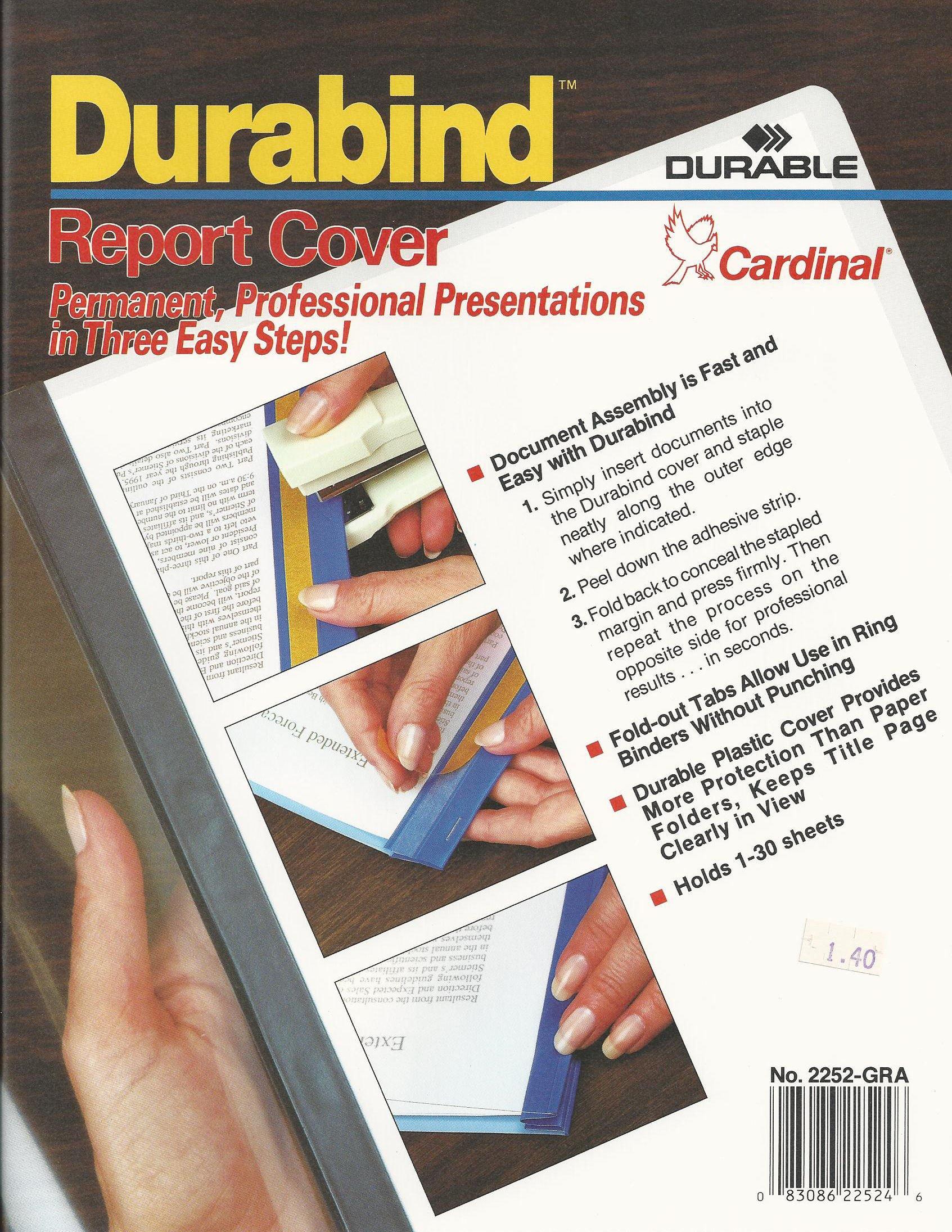Cardinal Durabind Report Cover
