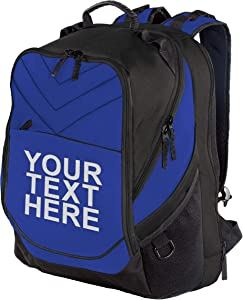 """Personalized Custom Business Computer Backpack - Add Your Name (17"""" Laptops)"""