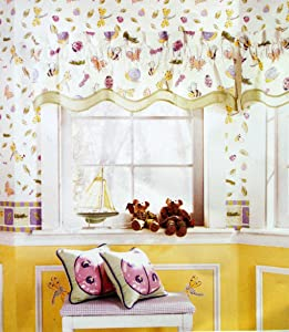 Waverly Home Classics Busy Bee Valance