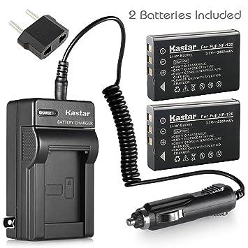 Amazon.com: Kastar Cargador, Batería para FNP120 – 1 FNP120 ...