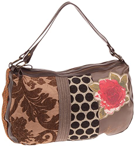 Amazon.com: Desigual Mujer Parches Everyday Bag 28 x ...