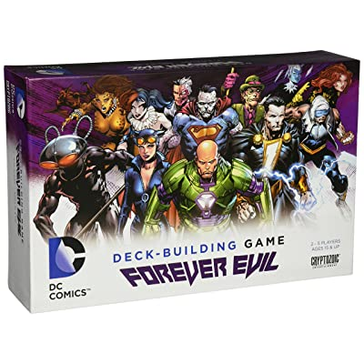 Cryptozoic Entertainment DC Deck-Building Game: Forever Evil: Cards: Toys & Games