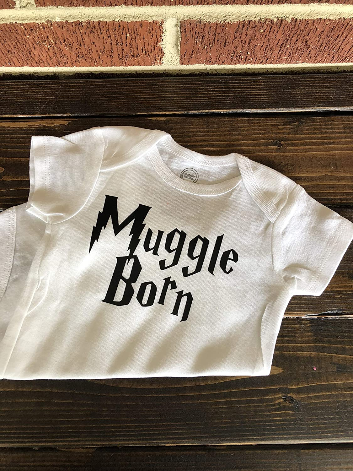 Muggle Born Harry Potter Inspired Baby Onesie