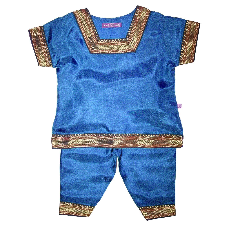 【訳あり】 Diwaliベビー女の子Indian Infant Infant Outfit – 100 100 %シルク – B00P75991Y 0 – 12ヶ月 Small ピーコック(Peacock) B00P75991Y, 中郡:8bd641a1 --- a0267596.xsph.ru