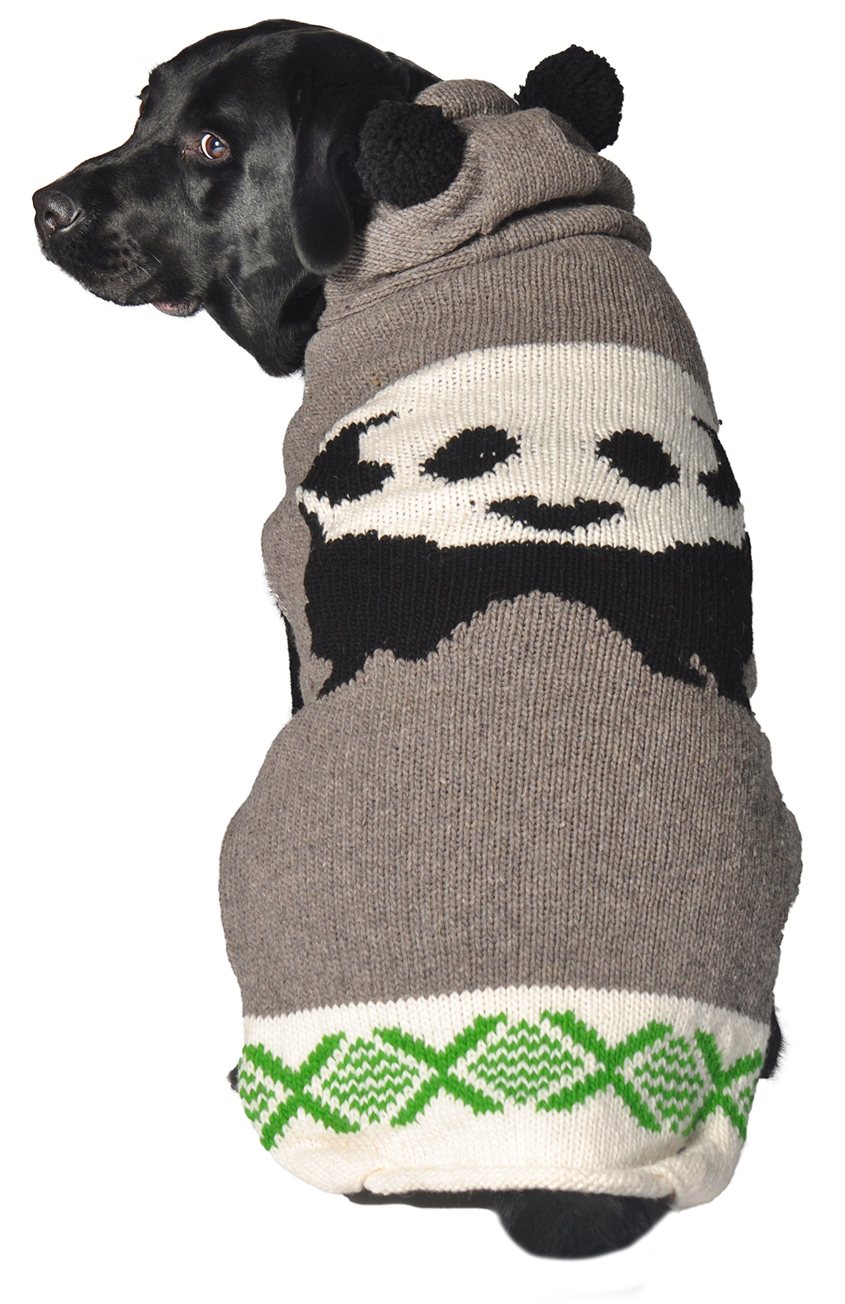 Chilly Dog Panda Hoodie Sweater, Large by Chilly Dog