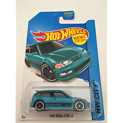 Hot Wheels 1990 honda civic EF new for 2014 Hw city 30/250: Toys & Games