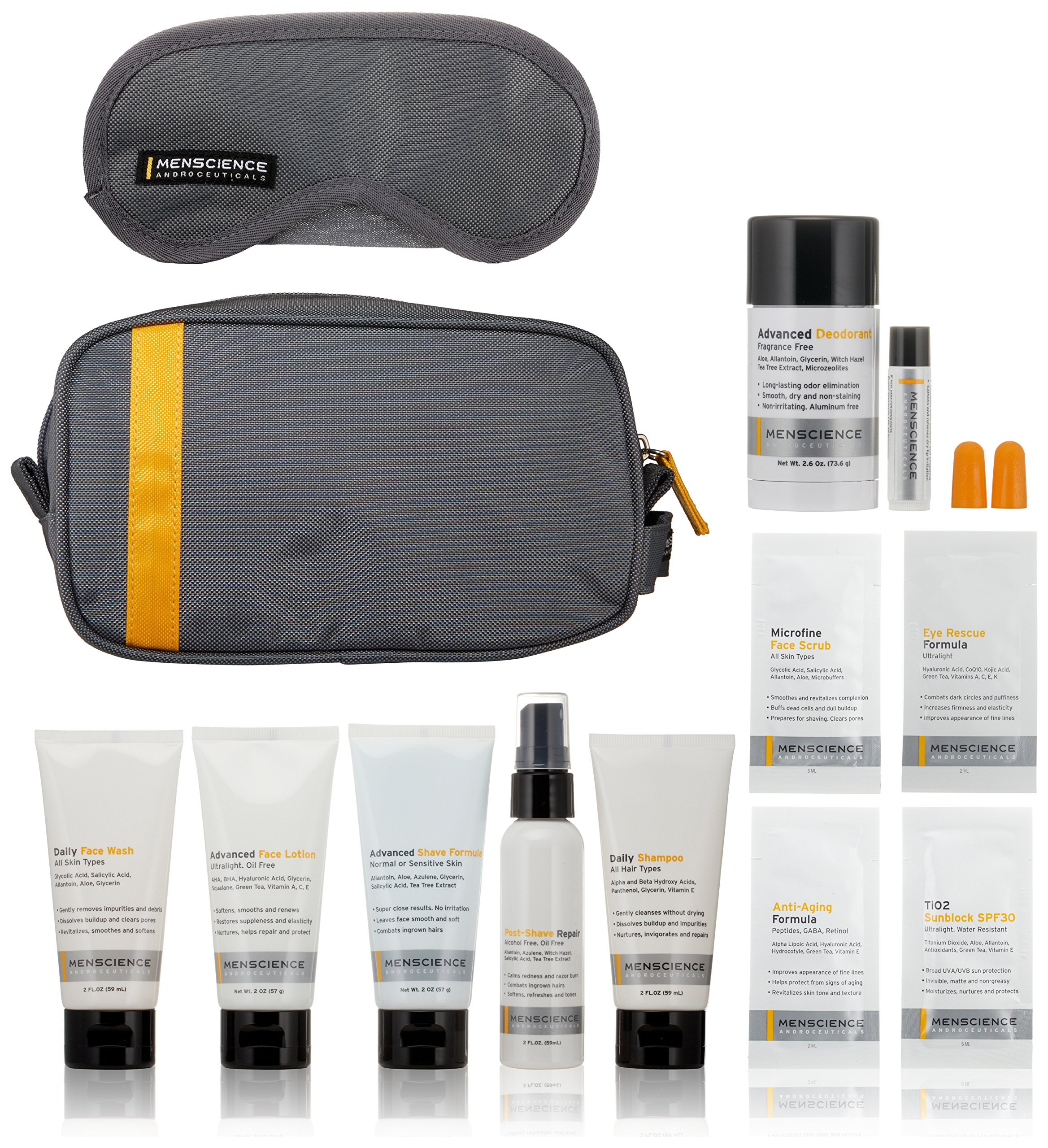 MenScience Androceuticals Travel Kit by MenScience Androceuticals