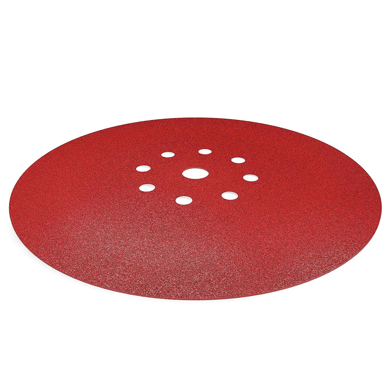 10pcs. 8 holes S/&R sanding disc // abrasive discs // sandpaper set /Ø 225mm P 150
